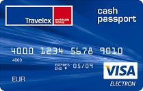 Carte CASH PASSPORT TRAVELEX