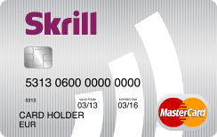 Carte SKRILL MONEYBOOKERS